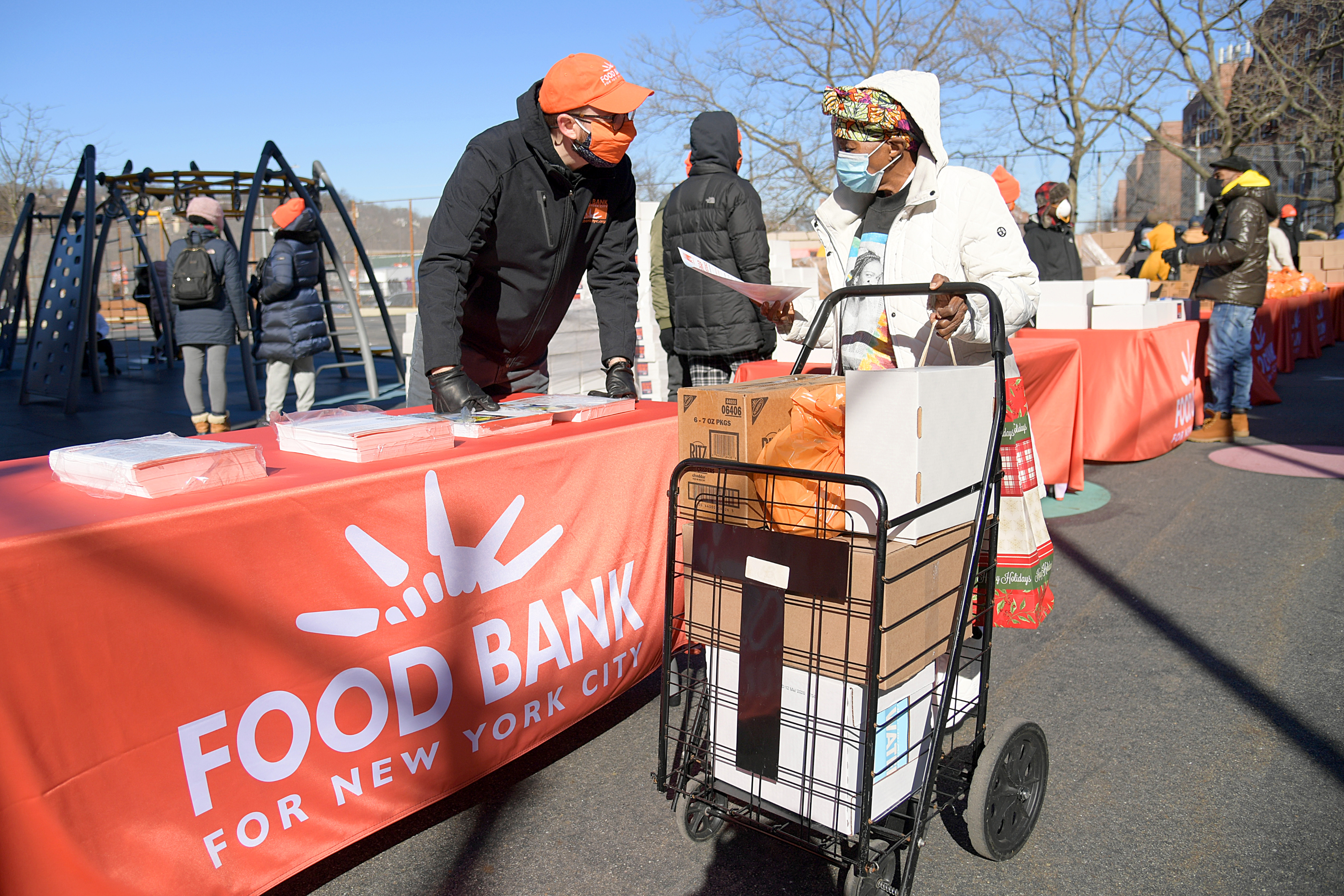 Food Bank For New York City serving client in Staten Island